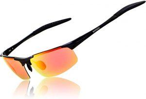 RONSOU lunettes de Soleil Incassables Polarisées